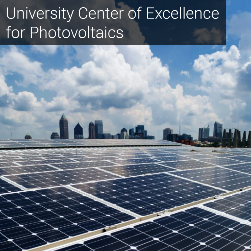University Center of Excellence for Photovoltaics