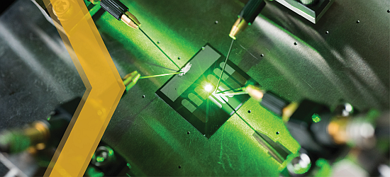Image of a Rectenna - Click Here to Access Micro and Nano Electronics Research at Georgia Tech